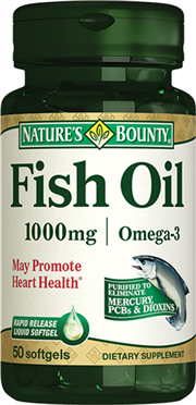 Fish Oil 1000 mg/Omega-3