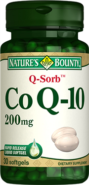 Co Q-10 200 mg (Q-Sorb?)
