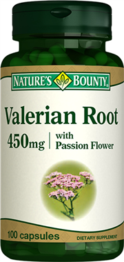 Valerian Root 450 mg with Passion Flower