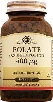 Folate (Metafolin®) 400 mcg