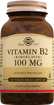 Vitamin B2 (Riboflavin) 100 mg