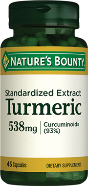 Turmeric (Std. Extract) 538 mg