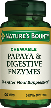 Papaya & Digestive Enzymes (Chewable)
