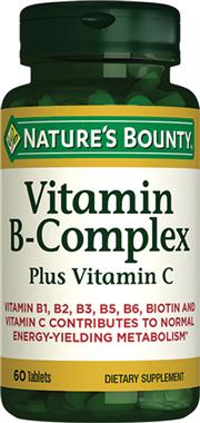 Vitamin B-Complex plus Vitamin C