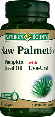 Saw Palmetto Pumpkin Seed Oil with Uva Ursi