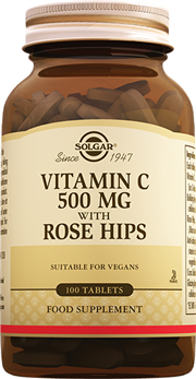 Vitamin C 500mg with Rose Hips