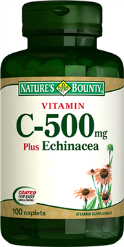 Vitamin C 500 mg plus Echinacea