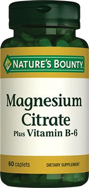Magnesium Citrate with Vitamin B6