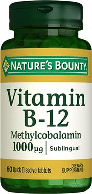 Vitamin B12 Methycobalamin 1000 mcg