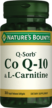 Coenzyme Q-10 (Q-Sorb™) & L-Carnitine