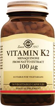 Vitamin K2 100 mcg