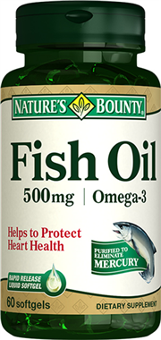 Fish Oil 500 mg/ Omega-3
