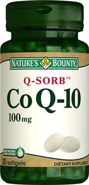 Coenzyme Q-10 100 mg (Q-Sorb?)